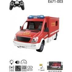 Double Eagle Радиоуправляемая пожарная машина 2.4G