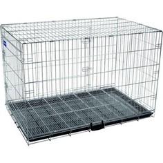 Клетка ARTERO №6 металлическая с фальшдном 125х74х83см для собак