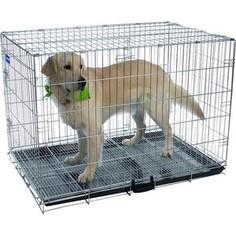 Клетка ARTERO №5 металлическая с фальшдном 107х74х85см для собак