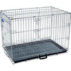 Клетка ARTERO №4 металлическая с фальшдном 91х56х64см для собак