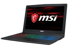 Ноутбук MSI GF62 8RD-266RU 9S7-16JF22-266 (Intel Core i7-8750H 2.2Ghz/16384Mb/1000Gb + 128Gb/No ODD/nVidia GeForce GTX 1050 Ti 4096Mb/Wi-Fi/Bluetooth/15.6/1920x1080/Windows 10 64-bit)