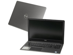 Ноутбук Dell Vostro 5568 Grey 5568-7219 (Intel Core i5-7200U 2.5 GHz/4096Mb/1000Gb/nVidia GeForce GTX 940MX 2048Mb/Wi-Fi/Bluetooth/Cam/15.6/1920x1080/Windows 10 Home 64-bit)