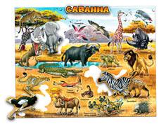Пазл Глобусный мир Животный мир саванны 30067