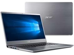 Ноутбук Acer Swift 3 SF314-54-83KU Silver NX.GXZER.016 (Intel Core i7-8550U 1.8 GHz/8192Mb/256Gb SSD/Intel HD Graphics/Wi-Fi/Bluetooth/Cam/14.0/1920x1080/Windows 10 Home 64-bit)