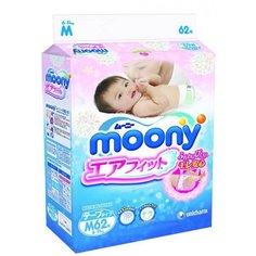 Подгузники Moony M 6-11кг 62 (64)шт 4903111243976