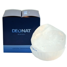 Дезодорант DeoNat кристалл природный 140г / 155г в подарочной коробочке