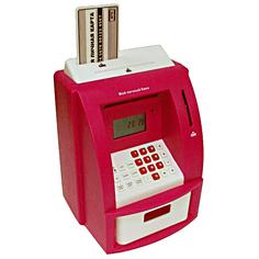 Копилка для денег Эврика Банкомат 91911 Red Evrika