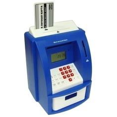 Копилка для денег Эврика Банкомат 91910 Blue Evrika