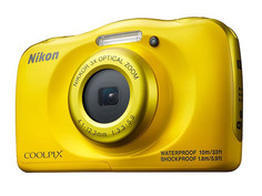 Фотоаппарат Nikon Coolpix W100 Yellow