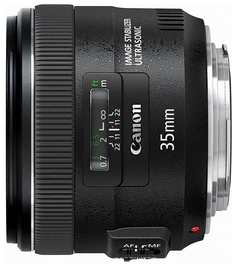 Объектив Canon EF 35 mm F/2 IS USM
