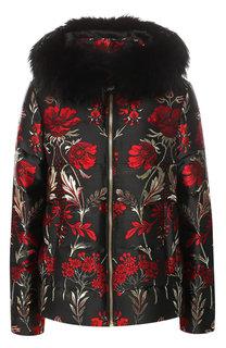 Пуховая куртка с капюшоном Dolce & Gabbana