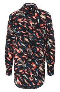 Шелковая блузка Givenchy