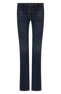 Расклешенные джинсы Saint Laurent