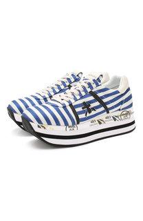 Текстильные кроссовки Beth Premiata
