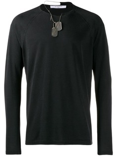 Givenchy dog tag sweater