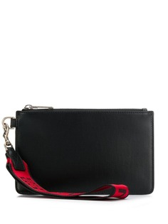 Givenchy zip clutch bag