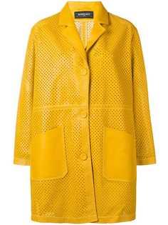 Simonetta Ravizza кожаное пальто