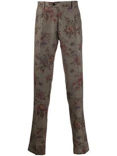 Etro шорты чинос с цветочным принтом