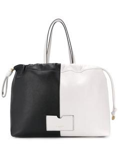 Givenchy объемная сумка-тоут
