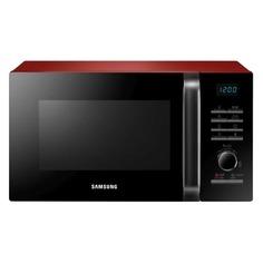 Микроволновая Печь Samsung MG23H3115QR 23л. 800Вт красный/черный