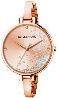 Женские часы в коллекции Floroje Женские часы Romanson RM9A07LLR(RG)