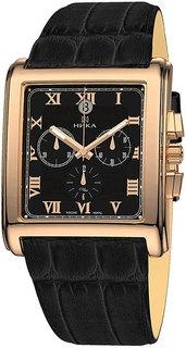 Золотые мужские часы в коллекции Celebrity Мужские часы Ника 1064.0.1.51 Nika