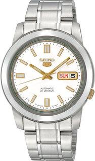 Японские мужские часы в коллекции SEIKO 5 Regular Мужские часы Seiko SNKK07K1