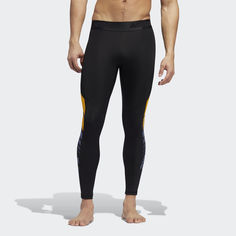 Удлиненные тайтсы Alphaskin Sport Moto Pack adidas Performance