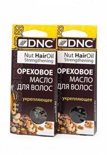 Набор для ухода за волосами DNC ореховое масло укрепляющее, из 2 шт 3*15 г
