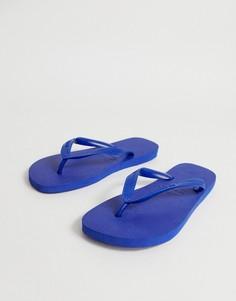 Синие шлепанцы Havaianas Top - Синий