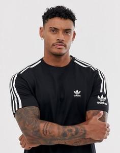 Черная футболка adidas Originals - Черный
