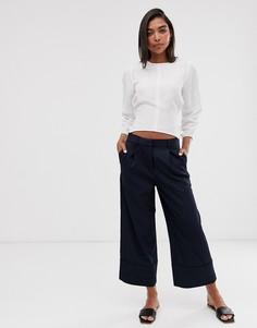 Строгие брюки Selected - Темно-синий