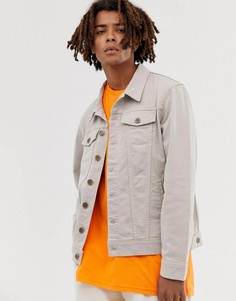 Светло-коричневая джинсовая куртка Brooklyn Supply Co - Бежевый