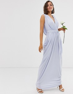 Платье макси Club L London - Синий