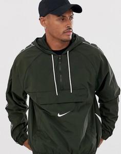 Черная куртка с логотипом Nike - Черный