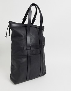 Кожаная сумка тоут G-Star Estan - Черный