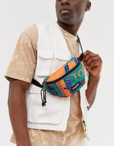 Сумка-кошелек на пояс вместимостью 2 л с принтом жестяных банок Eastpak X Andy Warhol Springer - Мульти