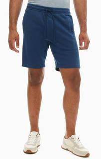 Шорты Синие хлопковые шорты с карманами Marc Opolo