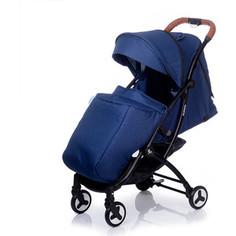 Коляска прогулочная BabyHit PLAZA - DEEP BLUE LINEN - Темно - синий лен