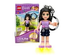 Брелок Lego Friends LGL-KE22E