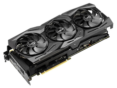 Видеокарта ASUS GeForce RTX 2080 Ti 1650Mhz PCI-E 3.0 11264Mb 14000Mhz 352 bit USB-C 2xDP 2xHDMI ROG-STRIX-RTX2080TI-O11G-GAMING
