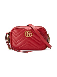 Gucci стеганая мини-сумка GG Marmont