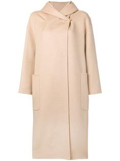 Max Mara пальто с капюшоном