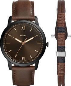 Мужские часы в коллекции The Minimalist 3h Мужские часы Fossil FS5557SET