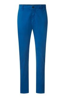 Голубые прямые брюки Strellson