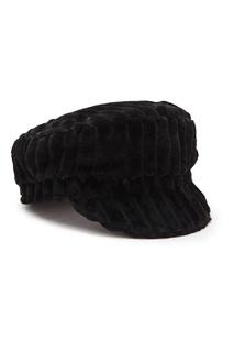 Черное кепи с фактурной отделкой Isabel Marant