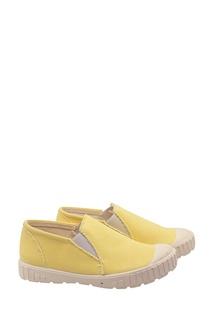 Желтые кеды Bonpoint