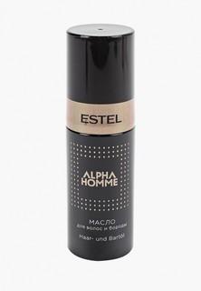 Масло для бороды Estel ALPHA HOMME для волос и бороды ESTEL PROFESSIONAL 50 мл