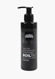 Масло для бороды Estel ALPHA HOMME PRO для волос и бороды ESTEL PROFESSIONAL 190 мл