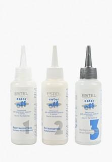 Эмульсия для волос Estel для удаления краски с волос ESTEL PROFESSIONAL color off 3*120 мл